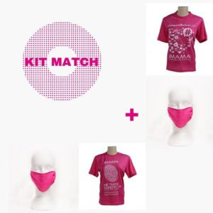 Kit Macth – (2 Máscaras IMAMA By Dulcet + 2  Camisetas – campanhas 2018/2019)