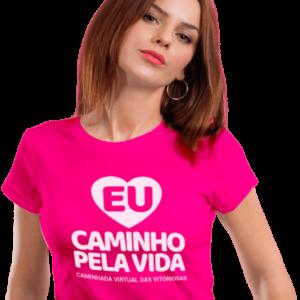 Camiseta – Campanha 2020 #eucaminhopelavida