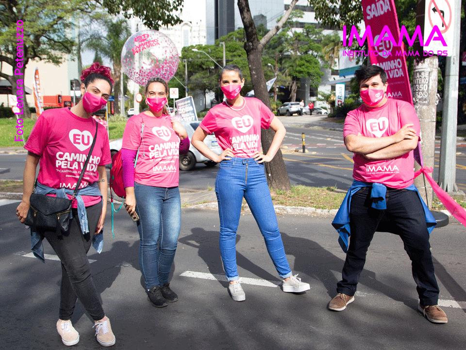 Caminhada das Vitoriosas Outubro Rosa 2020