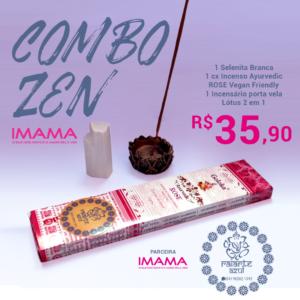 Combo Zen IMAMA e Raiarte – EDIÇÃO LIMITADA!