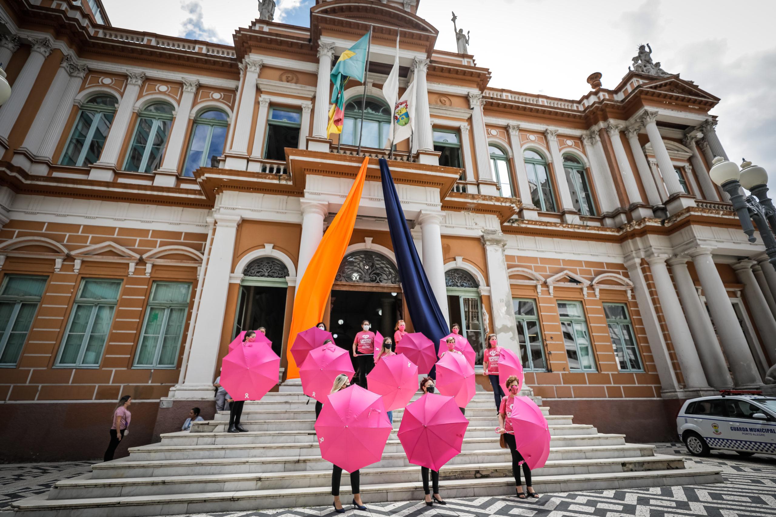 Flashmob IMAMA no Dia Mundial do Câncer