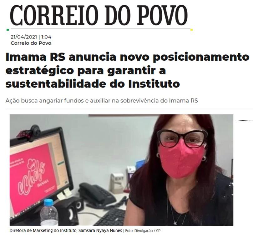IMAMA RS anuncia novo posicionamento estratégico para garantir a sustentabilidade do Instituto